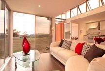 Shipping Container Home / I am hoping to build one of these one day!