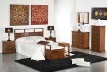 Forest / Muebles de estilo colonial en madera maciza que prestan calidez y confort al hogar.