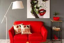 Sofás / Una interesante selección de sofás para dos o tres personas de diferentes estilos para decorar tu sala de estar.