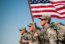 *True American Heroes / In honor of our military personnel and their families. Thank you for your service and your sacrifice. With love and prayers for your protection.