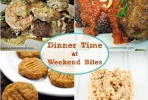 Weekend Bites / All your favorite recipes from Weekend Bites. Link up Every Thursday night at 8:30PM MST http://www.homemaidsimple.com/category/weekend-bites/