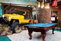 Man Caves / For that man who knows what he wants (and is allowed to build it by his wife) :)