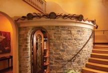Wine cellars / Drinking a beer is an event; drinking wine an experience!