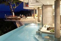 Playful Pools / Why not keep yourself entertained in such gorgeous looking pools when given the chance?!