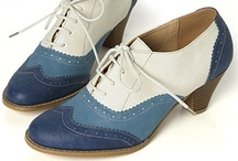 Brogues, Wing Tips, Oxfords, Saddle Shoes... / by Stephanie Harding