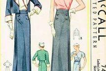 1930s Vintage Patterns