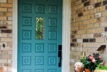 Doors / Looking for door paint colors?! Every home design project should start somewhere and why not with picking your door paint colors?
