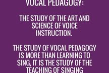 Vocal Teaching / Pins and links for those with an interest in the singing or voice work field
