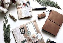 Journal/Midori/Travelers notebook inspiration