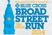 Blue Cross Broad Street Run T-shirts / Blue Cross Broad Street Run T-shirts throughout the years / by Independence Blue Cross (IBX)