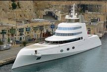 Luxury Yachts / Luxury yachts have always been associated with ultra high net worth people. And they're right! Who else can afford such beautiful boats!