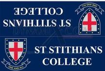 St Stithians College / St Stithians College is a Methodist church school situated on the border of Randburg and Sandton, Johannesburg, South Africa. It is a village of small schools, comprising a Junior Preparatory School, Boys' Preparatory School & Boys' College, Girls' Preparatory School & Girls' College.  Founded in 1953, this city school set on a 105-hectare estate has retained a country atmosphere and yet remains at the cutting edge of educational thinking in South Africa.