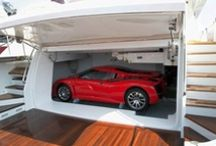 Luxury garages / If your car is that special, why not give it a nice place to sleep in? :)