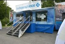 #IBXExpress / Independence Express is a new, internet-enabled mobile education and retail health care experience installed in a large tractor-trailer that will travel throughout the region to inform consumers about the Affordable Care Act. #ACA #IBXExpress / by Independence Blue Cross (IBX)