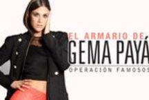 El Armario de Gema Payá / Nuestra prota de Operación Famosos, nos enseña sus looks favoritos para esta temporada Otoño - Invierno
