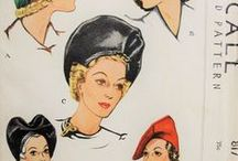 Accessories Vintage Sewing Patterns / Hats, Bags, Stoles, Sleeves and more!