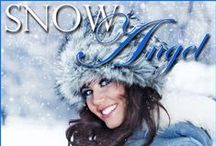 """**CW Fiction Books ~ Snow Angel / Fiction (romance): Snow Angel is first in the High Desert Hearts series, a """"New Adult"""" romance.   Melinda's broken heart finds help--and heat--from a surprising source. . . her best friend, Jacob. When sparks fly between them, neither is prepared, not only because they fear ruining their own friendship, but the close ties of both their families and all their friends, as well.  That's a lot of pressure on a new romance...  www.chantillywhite.com"""