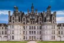 "Châteaux de France / France is full of castles, or ""chateaux."" Pin your favorite chateau here!"