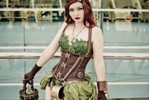 Poison Ivy specific / classic inspiration and steampunk twists