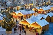 Holidays in France / Holiday markets, sparkling lights, vin chaud, decorated chateaux and more!