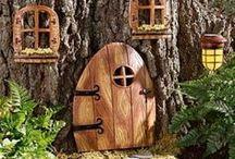 DIY ~ Faerie Gardens / Adding magic to the garden...
