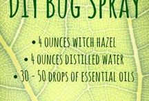 DIY ~ Bugs Be Gone! / Bug repellents and bug killers