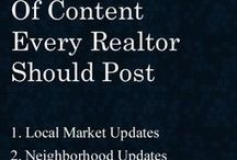 Top Real Estate Social Media Articles / A collection of some of the best real estate articles, written by top real estate agents with the fellow real estate agent's social media activities in mind!  I hope you'll find this advice valuable AND will actually apply it!  #marketing #socialmedia #advice #tips #realestate