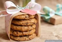 Bake Sale Ideas / Bake Sale Ideas.  Mostly saving these for my kid's band bake sales.  Food packaging ideas.  Food wrap.  Fun ways to display items for a bake sale.