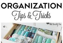Organize / Ideas to organize your life!