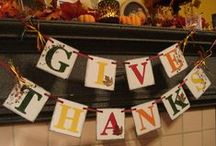 Holiday-Thanksgiving & Fall / by Chandra Ivey