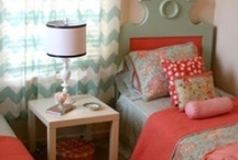 Girly Room Decor / decor and organizational ideas for the girls room/s. / by Jennifer Fletcher
