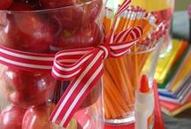 Back to School Theme / Back to School Ideas for parties and events. / by Julia Bettencourt