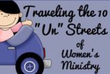 "Women's Ministry Extras / Ideas for Women's ministires.  Skit videos, and ""extra"" fun ideas for ladies ministry."
