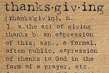 Fall/Thanksgiving Crafts / by Jennifer Rikard
