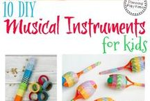 Music Learning Activities for Kids / Fun songs and hands-on activities to learn music and music appreciation!