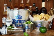 Beer Ice Buckets / Corona Extra, Pacifico Clara, Victoria and Modelo Beer Ice Buckets, bottle openers, everything for your backyard Beach or Tiki Bar. Great gift ideas!