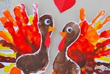 Thanksgiving with Kids / Great ideas for Thanksgiving celebrations with kids!
