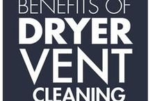 Dryer Vent Cleaning / Dryer vent cleaning reduces drying time, which saves energy and money. / by Mr. Appliance Corp.