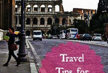 Travel tips / by Vicki Rathman Lehr