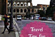Travel tips / by Vicki Rathman Lehr
