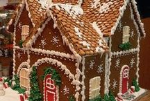 Gingerbread Christmas Party Theme / All about Gingerbread!  Gingerbread house, cookies, baked goods.  Ideas to pair with the Gingerbread Wishes Theme on the Creative Ladies Ministry website.