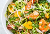 Start Your Spiralizers! / Recipes for using spiralized veggies. Zoodles and more!