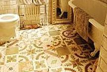 Bathrooms / Bathrooms tiles ideas, most of them from our own Encaustic, Picasso and Granada ranges.