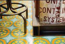 Restaurants / Nice restaurants with nice tiles!