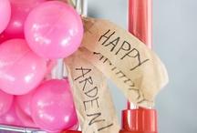 Arden's First Birthday