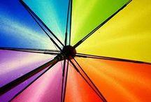 Sunshine, Lollipops, and... / rainbow colors