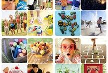 SumSumSummertime / Summer activities, fun, schedules, lists for kids / by Sarah Boyce Collier