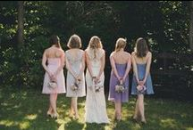 Bridesmaids Inspired / Bridesmaids dresses are available at L'elite 617.424.1010
