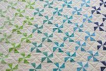 Quilts: Pinwheels