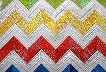 Quilts: Chevron, Ziggy Zaggy